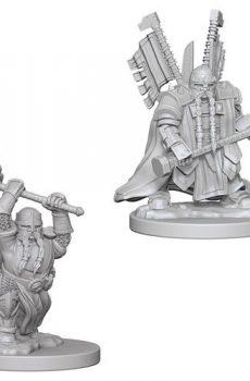 D&D Nolzur's Marvelous Miniatures: Dwarf Male Paladin