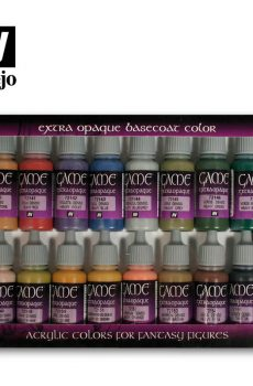 Extra Opaque Colors (16) 17 ml.