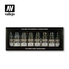 Washes (8) 17 ml.